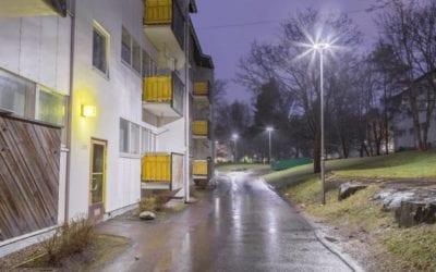 Tarvitseeko puistovalaisimien määrää lisätä, kun valaistus uusitaan?